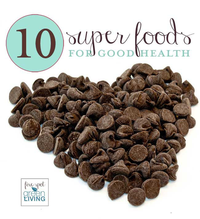 10 Superfoods for Good Health
