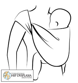 Baby Wearing from Hip Dysplasia Institute