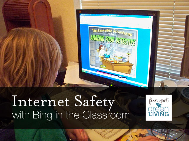 Internet Safety with Bing in the Classroom
