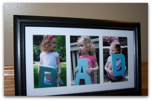 Father's Day DIY Photo Gift