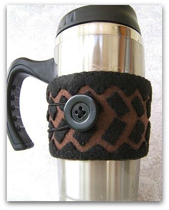 Fathers Day DIY Coffee Sleeve