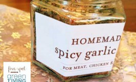 Spicy Garlic Rub - DIY Homemade Christmas Gift Ideas, Printables and Activities