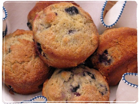 Mildred's Blueberry Muffins