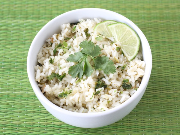 DIY Natural Cilantro Lime Rice