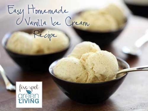 Easy Homemade Ice Cream Recipe