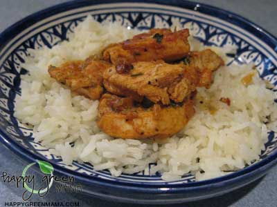 Moroccan Stovetop Chicken