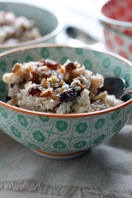 Slow Cooker Moroccan Rice Pudding