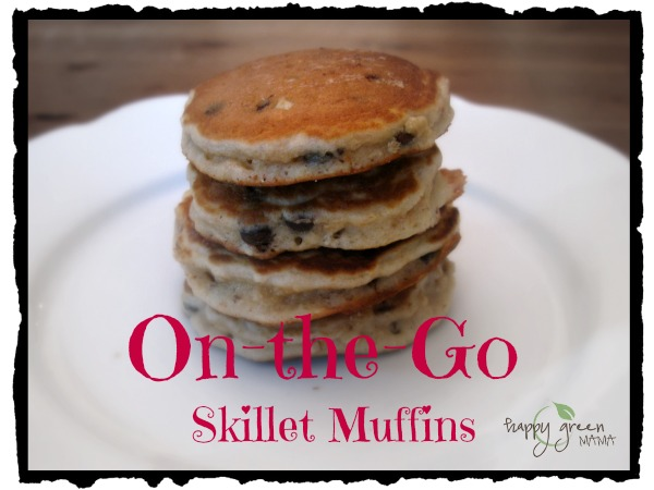 Skillet Chocolate Chip Muffins