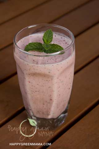 Berry Smoothie Almond Meal