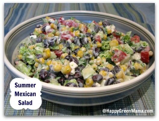 Healthy Summer Mexican Salad