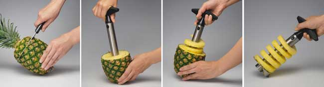 Stainless Steel Pineapple Slicer and Strawberry Huller Giveaway!