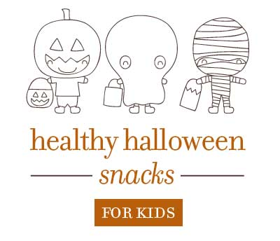 5 Healthy Snacks for Kids at Halloween