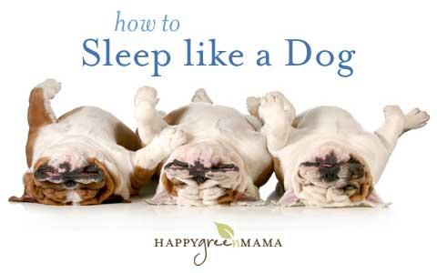 How to Sleep Better at Night - HappyGreenMama.com