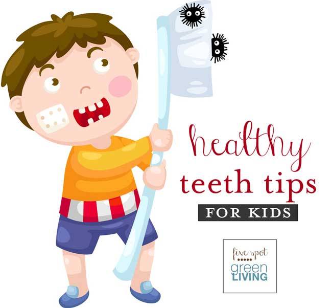 Healthy Teeth Tips for Kids from Trident - February is National Children's Dental Health Month #ncdhm