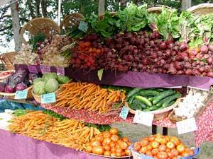 healthy eating tips - farmer's market
