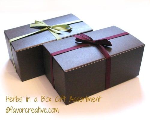 Eco-Friendly Herbs Assortment Gift Box