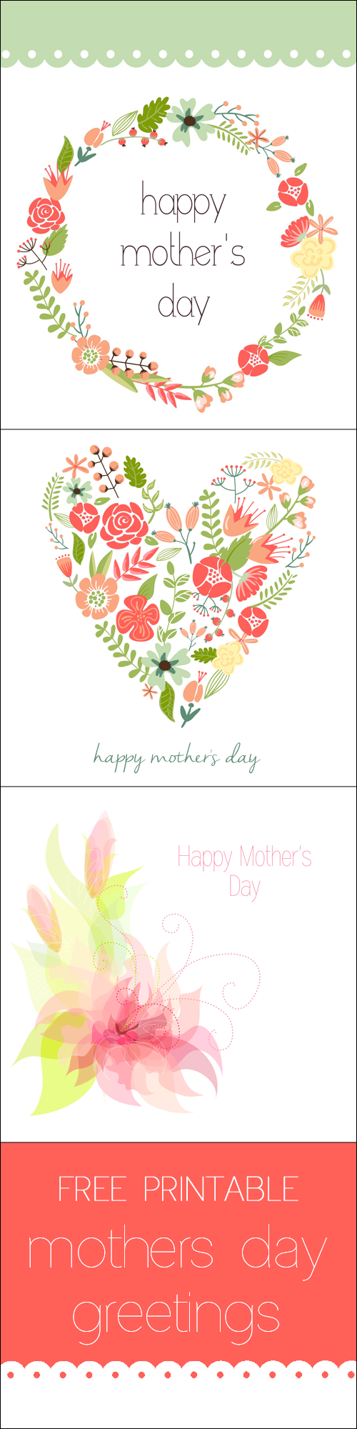 Mothers Day Cards Free Printable Greetings For Your Mom Five Spot