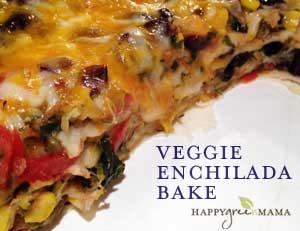 Veggie Enchilada Bake