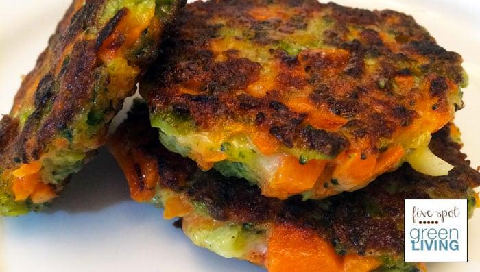 Crispy Veggie Fritters