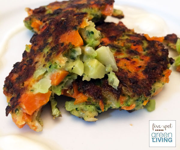 Kid-Friendly Broccoli and Carrot Fritters