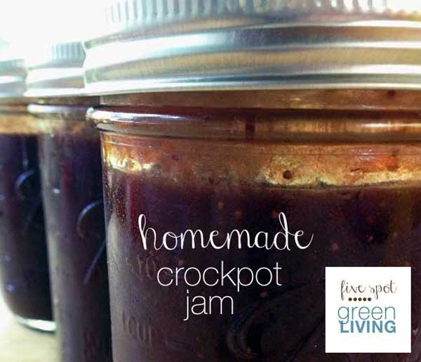 Homemade Crockpot Jam Gift