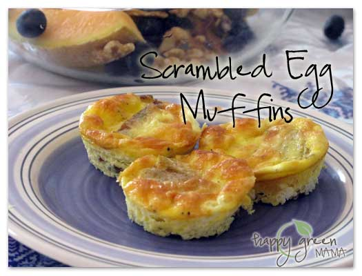 Easy Breakfast Scrambled Egg Cakes