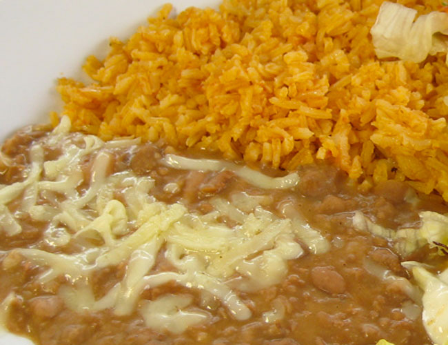 Healthy Foods: Kid-Friendly Refried Beans and Rice