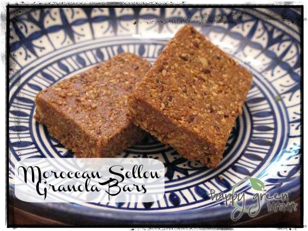 Moroccan Sellou Granola Bars