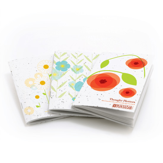 Botanical PaperWorks Plantable Notebooks
