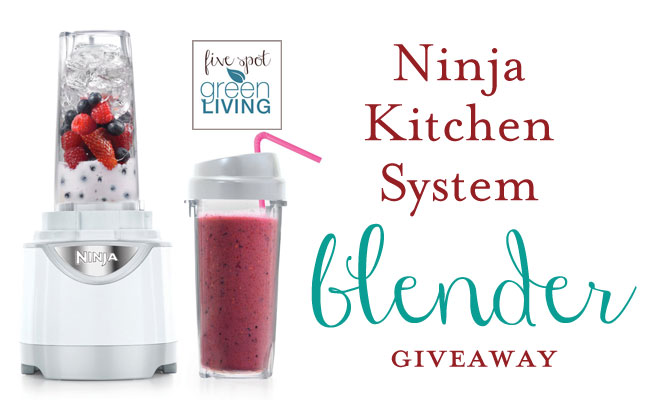 Ninja Kitchen System Pulse Blender Giveaway #hellosummer