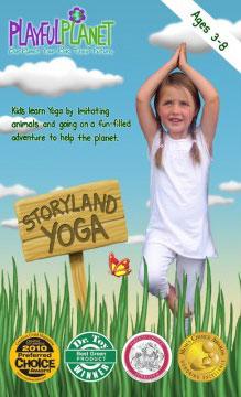 Playful Planet Storyland Yoga DVD