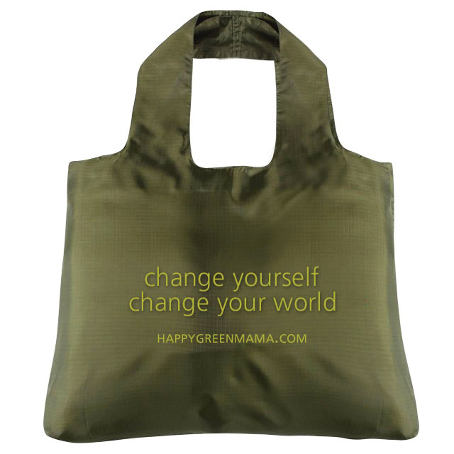Change Yourself Reusable Bag