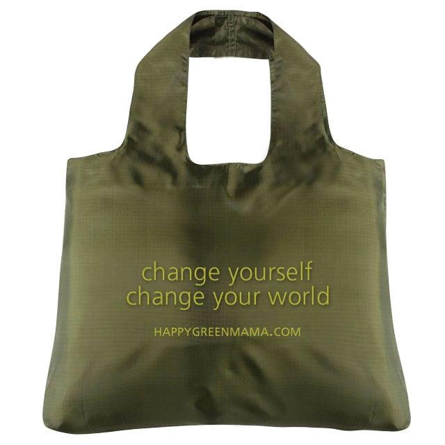 Change Yourself Reusable Bag