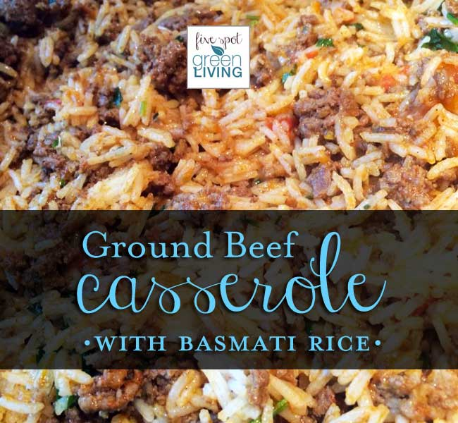 Ground Beef Casserole With Basmati Rice Recipe