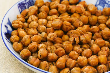 roasted-chickpeas 20 Healthy Appetizers for Thanksgiving