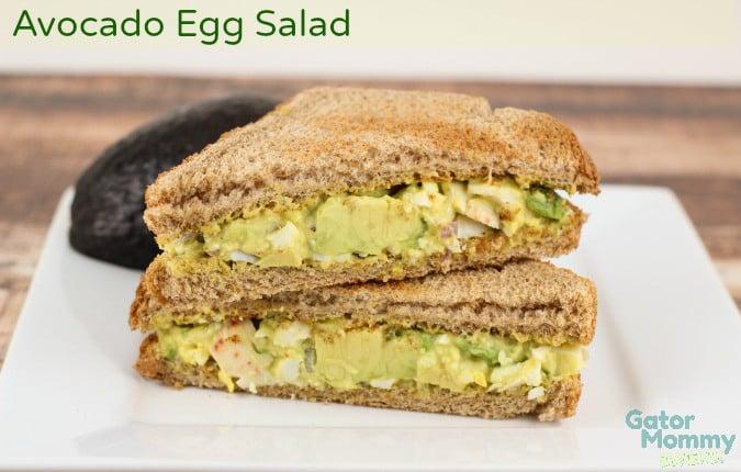 Picnic Food Ideas for Summer Fun - Avocado Egg Salad