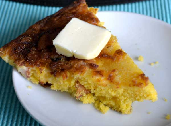 Bacon Cheddar Cornbread Homemade Bread Recipes