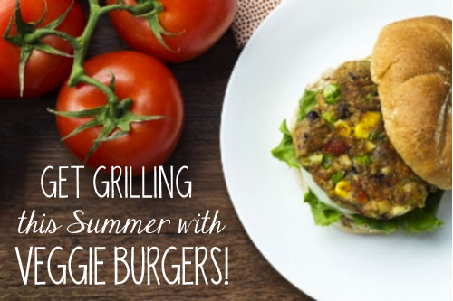 Get Grilling This Summer with Delicious Veggie Burgers