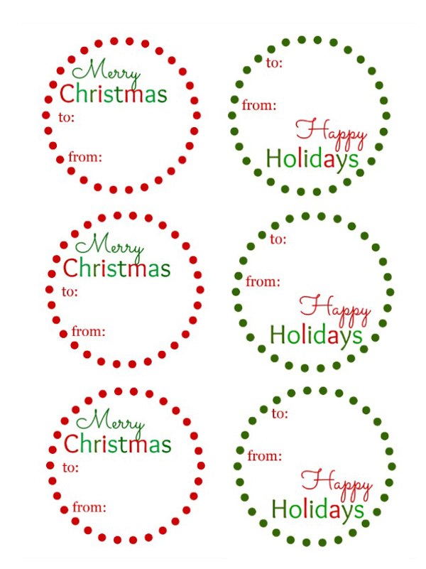 FridayFreebieGiftTags-katbalogger Over 40 Free Printable Christmas Gift Tags