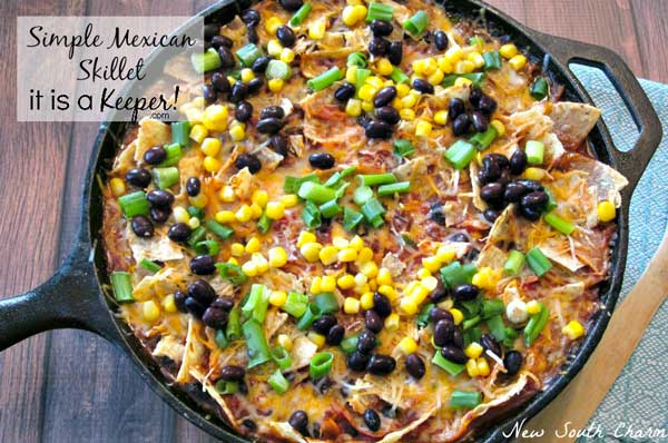 Simple-Mexican-Skillet-2-2 Healthy Meal Plan Volume 12