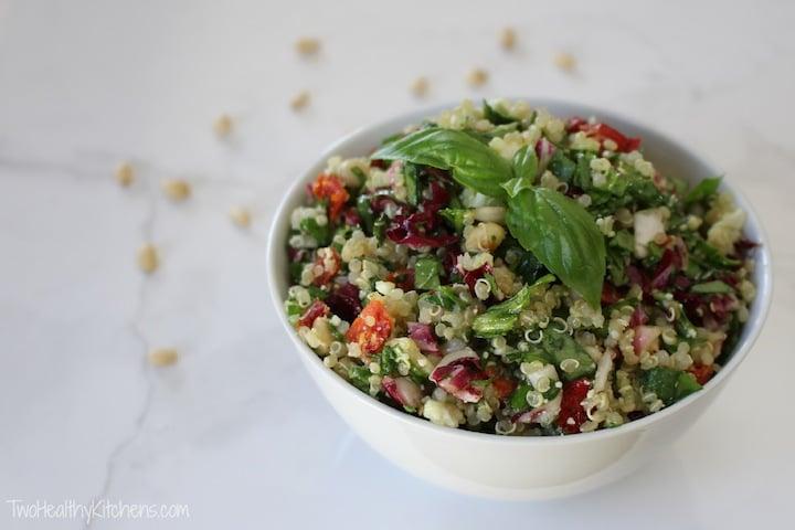 Picnic Food Ideas for Summer Fun - Mediterranean Quinoa Salad