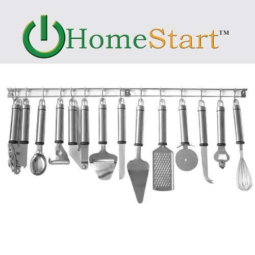Amazon Deals: HomeStart 13-Piece Stainless Steel Tool and Gadget Set