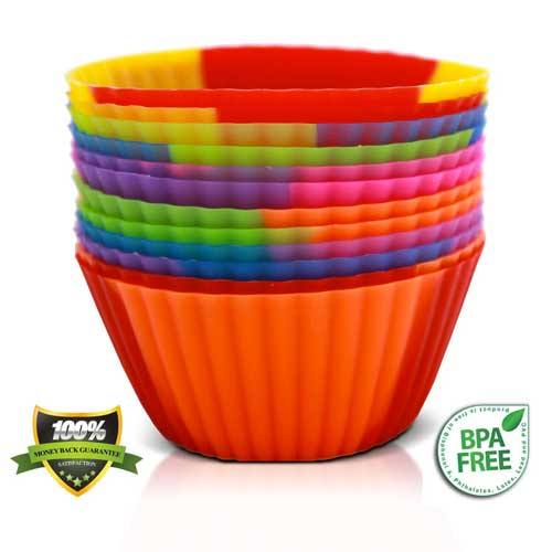 Silicone Baking Cups Set of 12