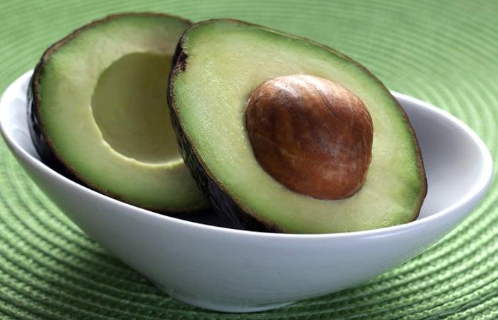 avocado for homemade hair mask