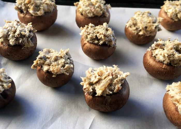 baby-bella-mushrooms 15 Italian Healthy Appetizers