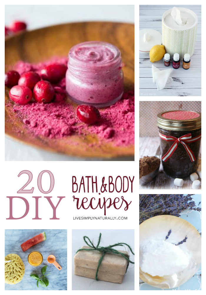 20 DIY Bath and Body Recipes - How to Make and Use Sulfate Free Recipes at Home