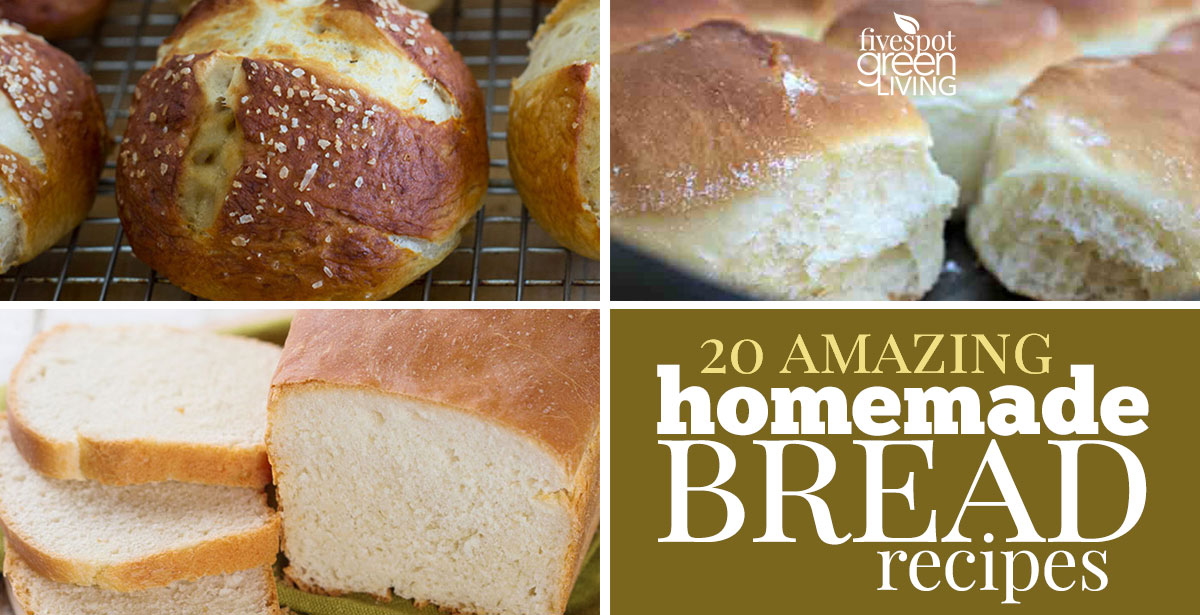 20 Amazing Homemade Bread Recipes for you to try today