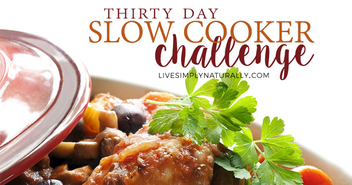 30-Day Slow Cooker Challenge