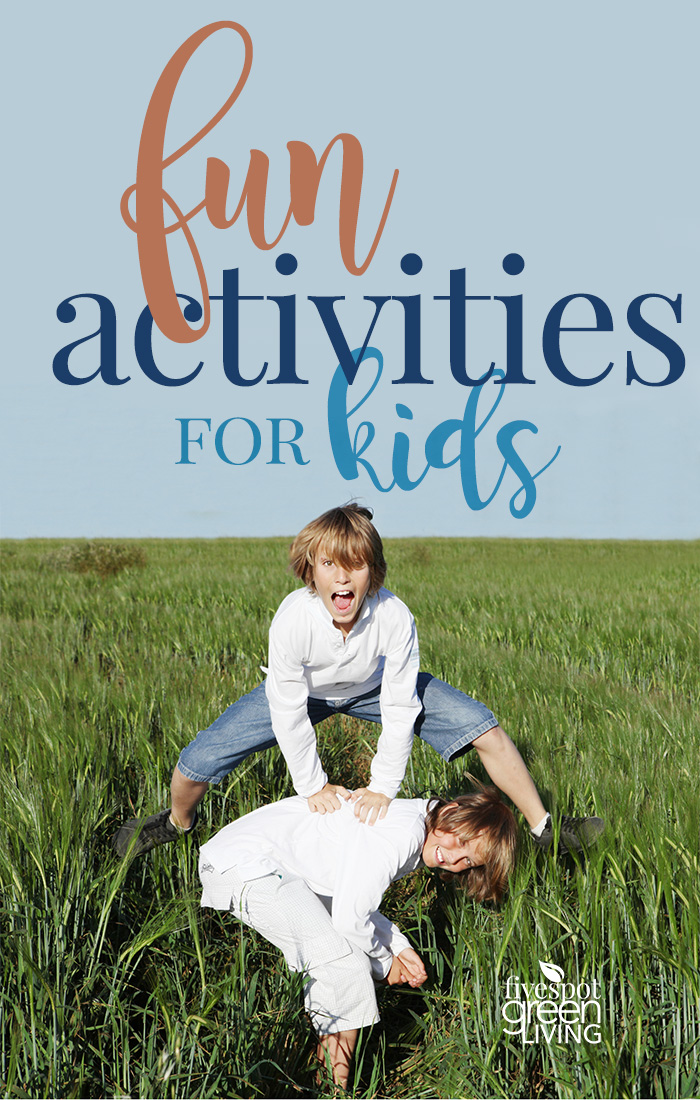Fun Activities for Kids at Home