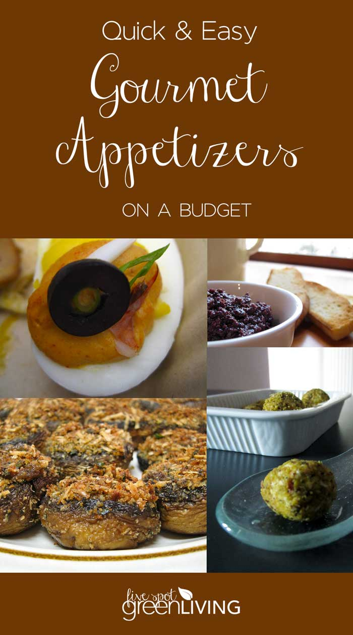 Quick and Easy Gourmet Appetizer Recipes on a Budget